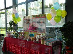 candy corner doğumgünü organizasyonu birthday party event