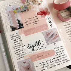pink spread, bujo inspo Bullet Journal Notes, Bullet Journal Aesthetic, Bullet Journal Ideas Pages, Bullet Journal Spread, Bullet Journal Inspiration, Book Journal, Bujo, Hand Lettering, Stationery