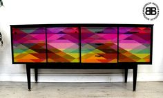 Statement Sideboard with Cole & Son Decoupage http://www.ebay.co.uk/itm/-/291584786487?