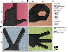 L.O.V.E. pattern, another one I think I must do