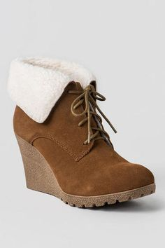Francescas.com MIA Shoes, Dacey Wedge Ankle Boot Love!