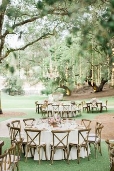 chic rustic theme garden wedding reception ideas
