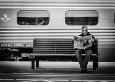 Train News #streetphotography