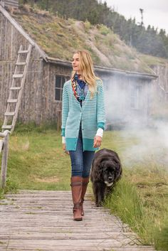 Voyage Cardigan - Our updated, and improved, easy-fitting classic cardigan, in go-with-everything stripes. Deep, ribbed cuffs. Lambswool, nylon, acrylic, wool, mohair.