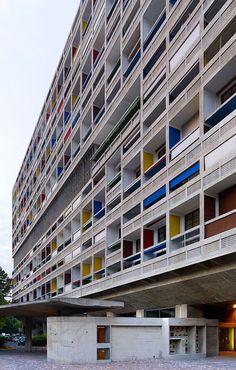 Le Corbusier, Cemal Emden · Unité d'habitation, Marseille