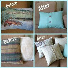 easi envelop, decor, make your own pillow covers, crafti, button