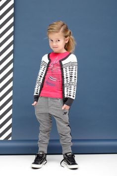 Kindermode  www.kienk.nl |  Stoere en laid back Tumble and Dry meisjes outfit |