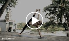 Need some visual yoga inspiration? This beautiful display of strength, flow, and flexibility by Ty Landrum in his Ashtanga yoga demo is a must-see!