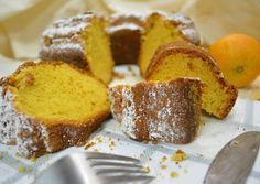 The best orange cake Greek Recipes, Dessert Recipes, Desserts, Cornbread, French Toast, Bakery, Sweet Home, Yummy Food, Yummy Yummy