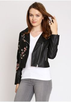 Pacific Coast Ride Leather Jacket  at shopruche.com