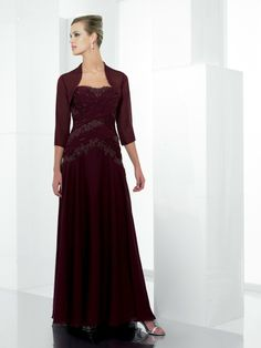 A-ligne parole longueur robes demoiselle honneur en mousseline de soie - Robes de Mariage Boutique