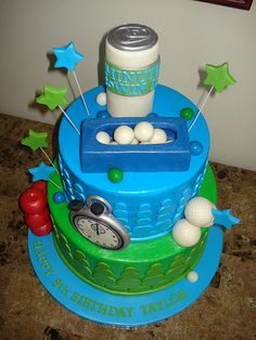 minute to win it cake...well dang this would have been perfect for my Minute to win it party tomorrow