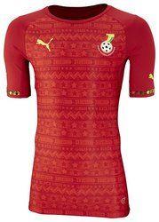Puma Ghana Away Football Shirt 2014 available at http://www.world-cup-products-worldwide.com/ghana-away-football-shirt-2014/