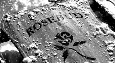 """Who actually heard Charles Foster Kane say, """"Rosebud?"""" in Citizen Kane, 1941 Citizen Dive Watch, Charles Foster, Dvd Regal, Mazzy Star, I Love Cinema, Basic Instinct, Orson Welles, Citizen Eco, Sharon Stone"""