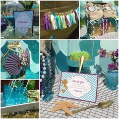 We Heart Parties: Party Information - Amanada The Little Mermaid