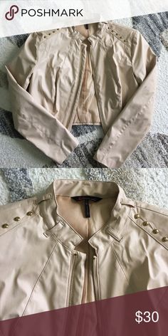 NUDE JACKET Worn a couple times but like brand new! Size small. Make me offers please!!! Jackets & Coats