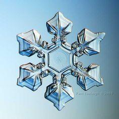 Amazing snowflake photography