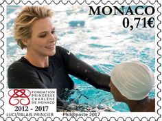 New stamps of Princess Charlene of Monaco Foundation were released