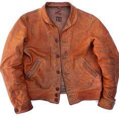 Leather, Brass & Copper — raddestlooks: More Raddest Looks:. Leather Flight Jacket, Tan Leather Jackets, Leather Jacket Outfits, Vintage Leather Jacket, Suede Jacket, Leather Men, Bomber Jacket, Biker Leather, Brown Leather