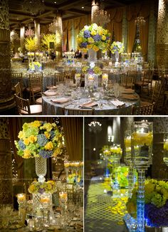 Candlelight Centerpieces by Kehoe #Luxury #Wedding #Centerpieces #Flowers