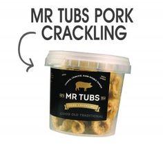Mr Tubs Pork Crackling