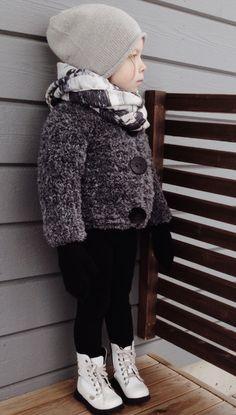 LÄMMIN ILO knitted teddyjacket