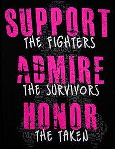 #breastcancer #awareness #survivors More