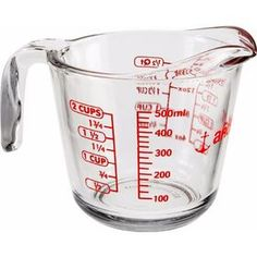 Our versatile Glass Measuring Cup is made of durable, heat-resistant glass with a convenient integrated handle and pouring spout. Easy to clean and see-through for easy measuring, it's sure to be a go-to kitchen helper. Lodge Cast Iron Griddle, Pint Cups, Glass Measuring Cup, World Market Store, Heat Resistant Glass, Thing 1, Anchor Hocking, Kitchen Tools, Kitchen Items
