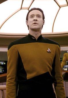 Star Trek TNG Lieutenant Commander Data premières saisons uniforme Nouveau Playmates 1993