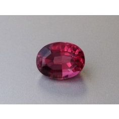 Natural Pink Tourmaline reddish pink color oval shape 1.47 carats