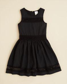 Ella Moss Girls' Reagan Crochet Dress - Sizes 7-14