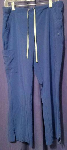 bb61e039a65 Womens Urbane Performance Drawstring/elastic Waist Scrub Pants Petite Small  blue #fashion #clothing #shoes #accessories #uniformsworkclothing #scrubs  (ebay ...