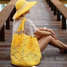 Giant Shell Stitch Beach Tote - Free Crochet Pattern - Share a Pattern Crochet Beach Bags, Free Crochet Bag, Crochet Market Bag, Crochet Shell Stitch, Tote Pattern, Purses And Bags, Crochet Patterns, Estate, Crochet Bag Patterns