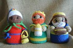 ༺༺༺♥Elles♥Heart♥Loves♥༺༺༺ ........♥Crochet Amigurumi♥........ #Amigurumi #Patterns #Crochet #Softies #Childrens #Toys #Handmade #Teddy #Doll #Tutorial #Patterns #Collectable~ ♥Beautiful Crochet Work By El Gancho De Lola Nativity