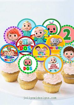 Cocomelon Edible Image Cupcake Cookie Topper in 2020 ...