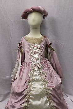 Girls Dress Blush Pink Unicorn Costume Cosplay Princess Halloween Size 4-10