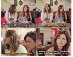 You're The Worst quote - Gretchen & Lindsay