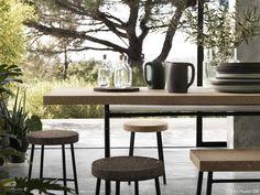 Écolo, responsable et design, le liège nouvelle génération investit les objets des maisons stylées.
