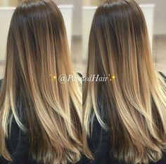 balayage, blonde, goals, hair, long hair, ombre, First Set on Favim.com