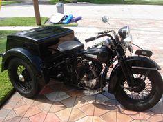Harley Servi Car 1950
