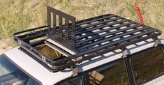 Znalezione obrazy dla zapytania homemade roof rack 4runner