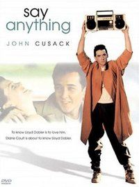 """""""Say Anything""""One of the definitive Generation X movies, Say Anything is equally funny and heartfelt -- and it established John Cusack as an icon for left-of-center types everywhere."""