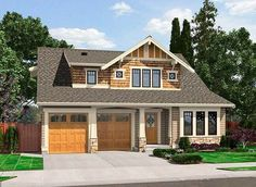 Great Craftsman Detailing - 23294JD | Architectural Designs - House Plans