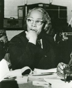 Septima Clark  was an educator and civil rights activist who established citizenship schools that helped many African Americans register to vote. Regarded as a pioneer in grassroots citizenship education, she was active with the NAACP in getting more black teachers hired in the South.