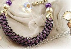 Schema -  Spiral Bracelet.  #Seed #Bead #Tutorials