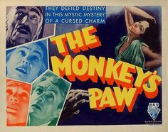 From February 1923, THE MONKEY'S PAW, directed by H Manning Haynes. #FebruaryInBritishHorror