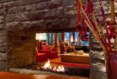 Tambo del Inka, a Luxury Collection Resort & Spa, Valle Sagrado - Lobby - fire place