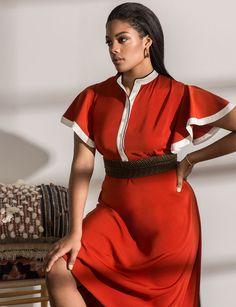 312042fd1b6 Dolman Ruffle Sleeve Dress