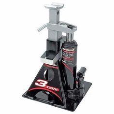 Hydraulic Car Lift Truck Vehicle SUV Garage Bottle Jack Stand 3 Ton Tool Model
