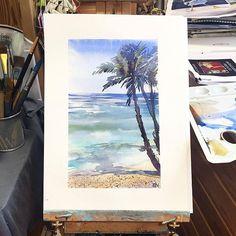 Watercolorist: @malahova_elvira #waterblog #акварель #aquarelle #painting #drawing #art #artist #artwork #painting #illustration #watercolor #aquarela